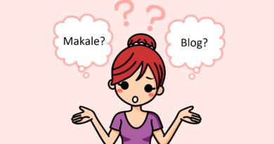 makale blog farkı